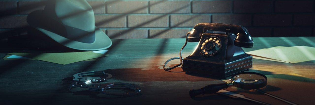 scrivania investigatore privato